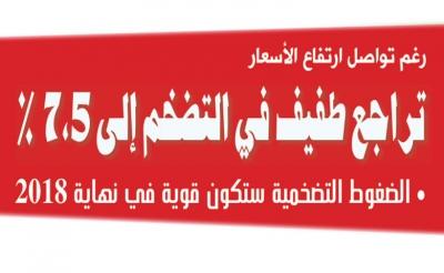 جريدة المغرب   رغم تواصل ارتفاع الأسعار: تراجع طفيف في التضخم إلى %7.5
